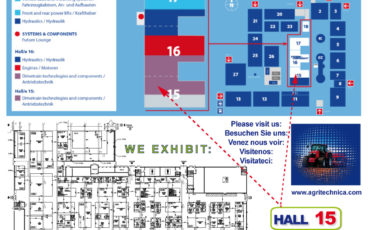 AGRITECHNICA 2019 – Hannover (Germany)
